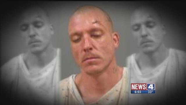 John Cullen, 39, is charged with stealing, and two counts of car theft and assault. He allegedly shoplifted before stealing three cars, including one from MoDOT. He eventually crashed. (Credit:  Jefferson Co Sheriff's Office)