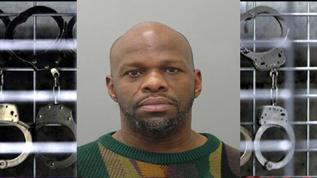 Orlando Mondaine is accused of holding the individuals against their will inside a home in the 7000 block of Roslyn on January 25.