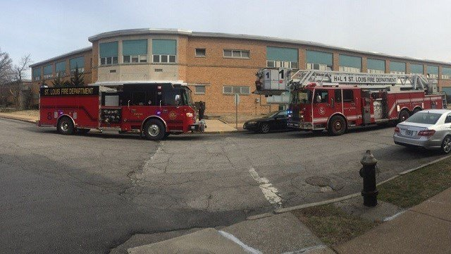 St. Louis Fire Department on scene of natural gas leak (Credit: St. Louis Fire Department)