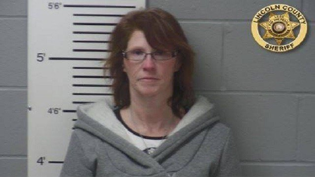 Lisa Sallee, 46, was charged with possession with the intent to sell a controlled substance. (Credit: Lincoln County Sheriff's Office)