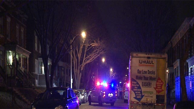 A victim was robbed near 39th and Blaine around midnight. (Credit: KMOV)