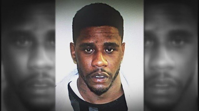 Derrick Smith accused of breaking into ex-girlfriend's house & fired shots (Credit: KMOV)