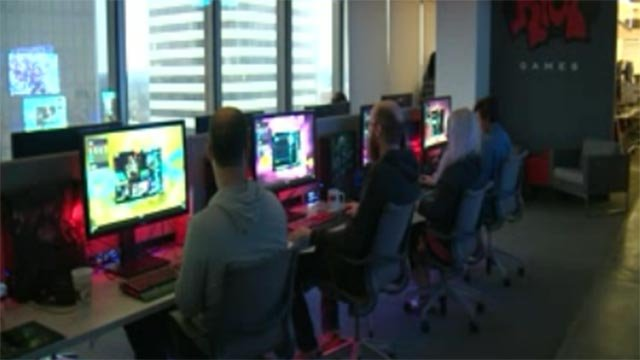 A view of the inside of the Riot Games offices in Clayton (KMOV)