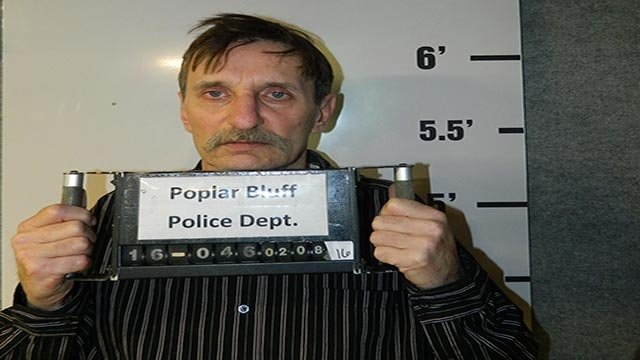 Timothy J. Johnson accused of armed robbery of Poplar Bluff store. (Credit: Poplar Bluff Police Department)