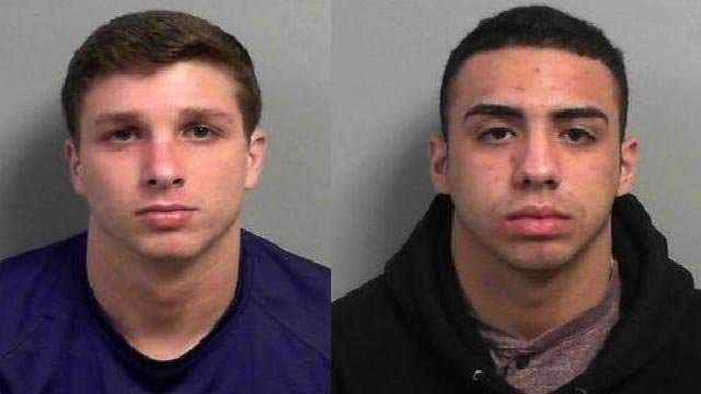 Cole Young and Kameron Garcie have been arrested for aggravated possession of stolen firearms (KMOV)
