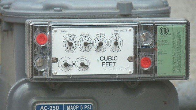 Lacleded looked into the church's problem and discovered a defective gas meter was the cause of the large bill. (Credit: KMOV-TV)