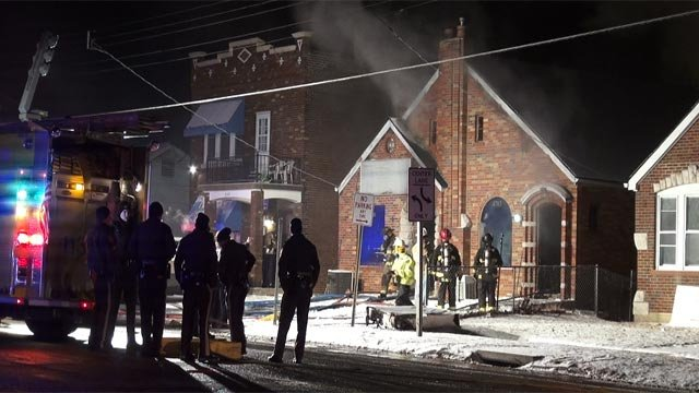 Investigators were called after a home in the 8700 block of Gravois caught fire Thursday. (KMOV)