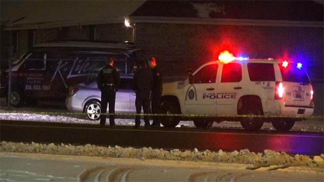 A woman was found with a fatal gunshot wound in north St. Louis early Monday. (Credit: KMOV)