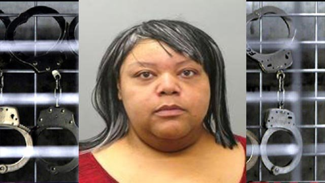 Monique Hammond is accused of stealing a patient's identity (Credit: St. Louis County Police)