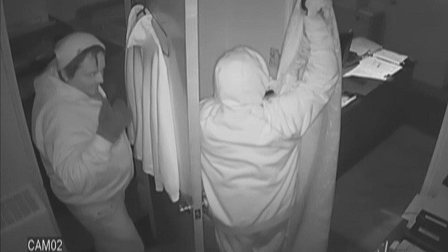 Two thieves robbed a Eureka church on February 15 (Credit: Eureka Police Department)