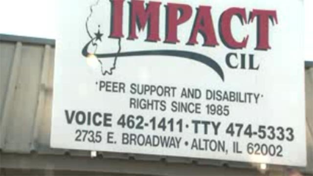 The sign outside of IMPACT (Credit: KMOV)