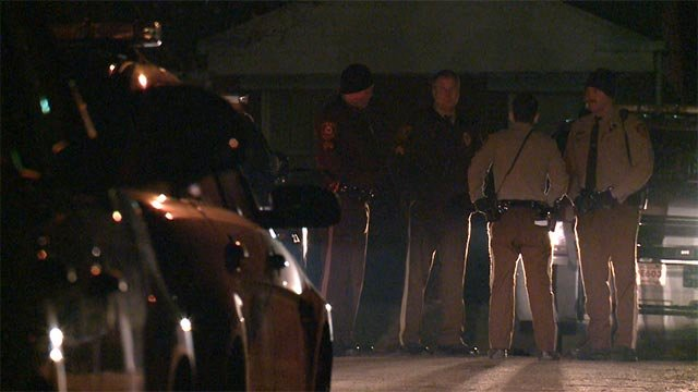 3 suspects led police on a chase from Ferguson to St. Louis Wednesday night (Credit: KMOV)