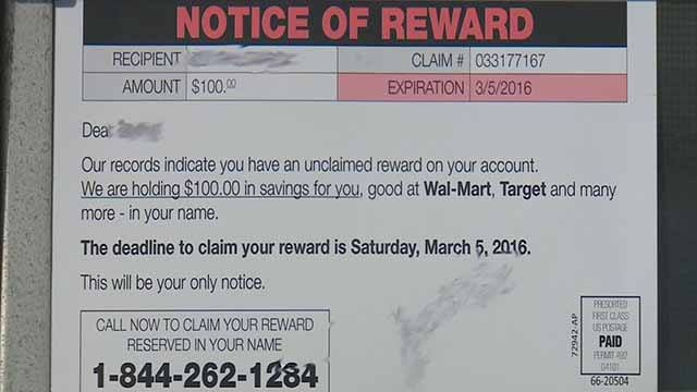 Woman received gift card in the mail, turned out to be a scam (KMOV)