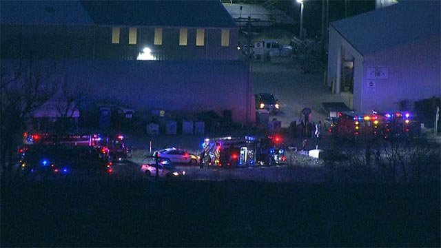 An Amtrak train and a vehicle collided in South County Monday morning (Credit: KMOV)