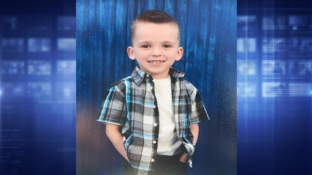 Police in O'Fallon, Missouri are searching for this missing boy (Credit: O'Fallon, Mo. Police Department)