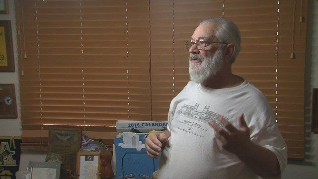 Leonard Debello accused of allegedly telling a Muslim family they needed to die (Credit: KMOV)