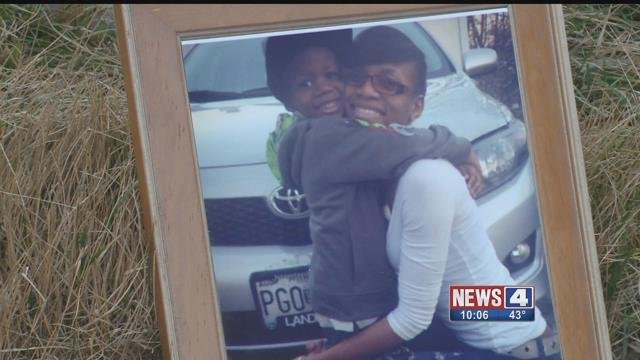 A photo of Whitney Brown and her son (Credit: Family)
