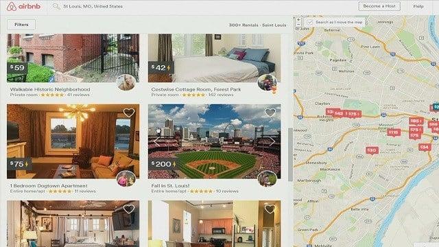 Airbnb website (Credit: KMOV)