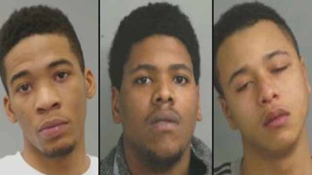 Tony Bailey, 21, Jerrod Corley, 24, and Leroy Coleman, 20, are accused of killing Emma Wallace, 37, in a drive by shooting on I-270 in Hazelwood. Credit: Hazelwood PD