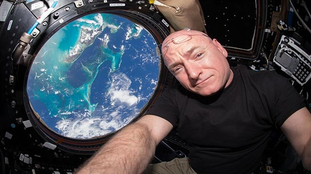 Astronaut Scott Kelly to return to Earth on March 1 after spending a year in space. After landing, Kelly will complete field tests that mimic a Mars landing (Credit: Scott Kelly/NASA)