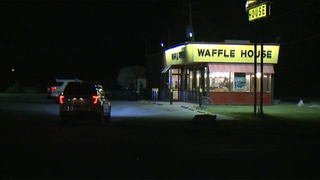 investigation underway after armed robbery at granite city waffl