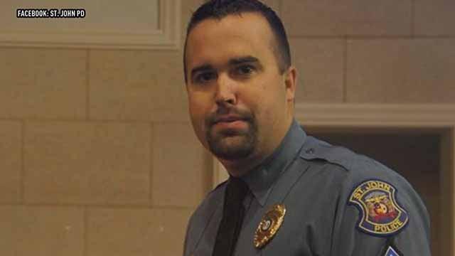 Sgt Matthew Barthelmass. Credit: St. John PD Facebook