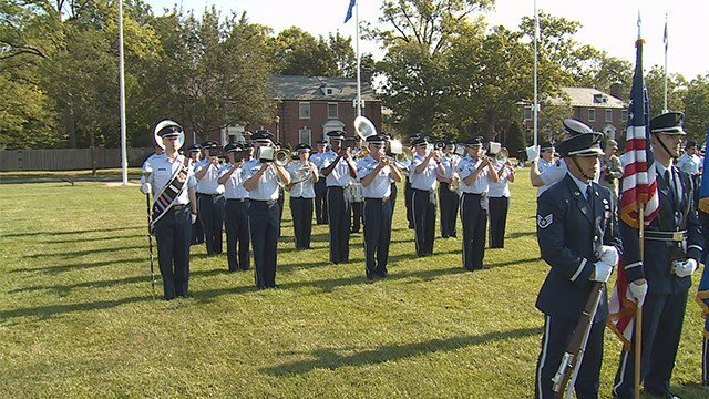 Scott Air Force Base gets a new commander. (Credit: KMOV)