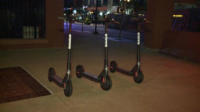 Bird Scooters (Credit: KMOV)