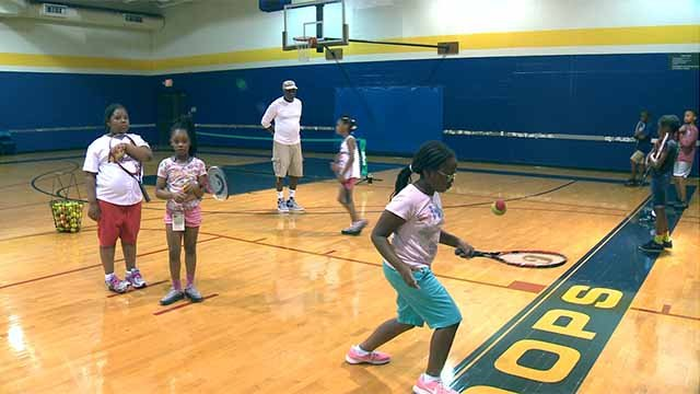 Mathews-Dickey Boys & Girls Club in north St. Louis offers a wide range of educational, cultural and physical activities and programs for children ages 5 to 18.Credit: KMOV