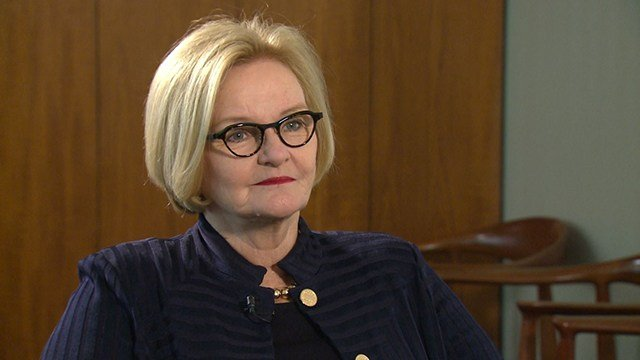 Sen. McCaskill speaks about the attempted hack of her computer systems by Russian operatives. (Credit: KMOV)
