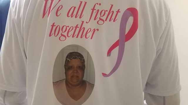 Lisa Bridges is refusing to give up her fight against breast cancer. Credit: KMOV