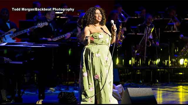 Aretha Franklin's last performance in St. Louis. Credit:  Todd Morgan