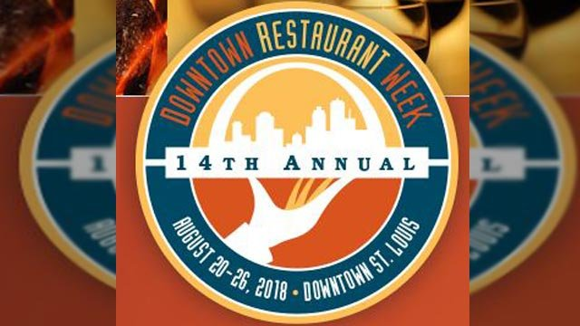 Logo for the 14th annual Downtown Restaurant Week