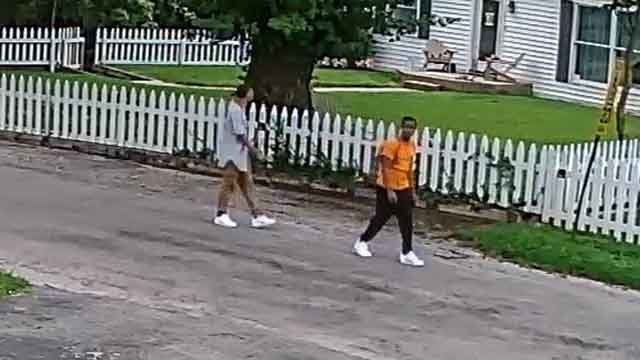 Police say these two broke into homes in a St. Clair County subdivision. Credit: St. Clair County Sheriff
